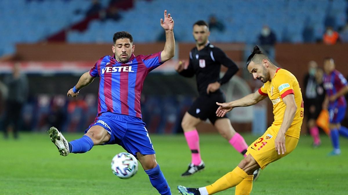 Trabzonspor, evinde takıldı: 1-1