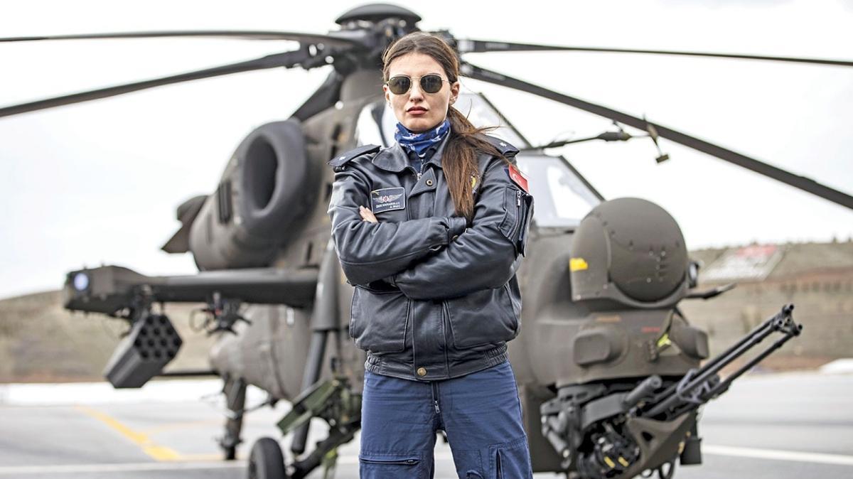 Atak'a ilk kadın pilot