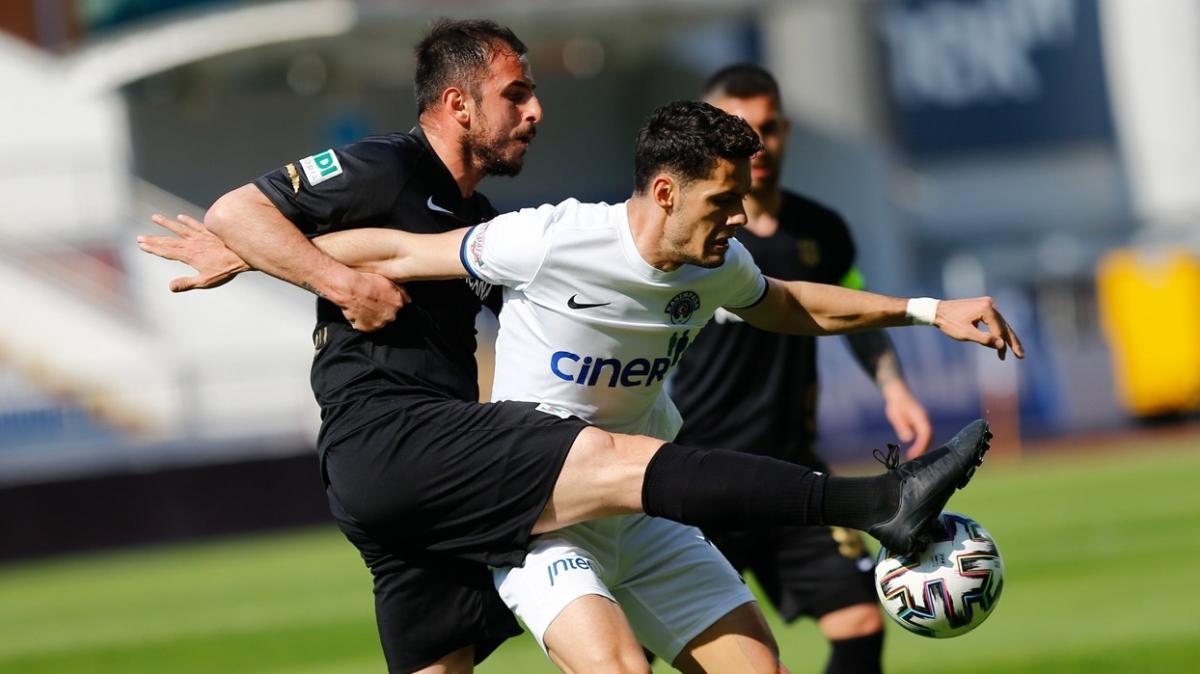 Kasımpaşa konuk ettiği Yeni Malatyaspor ile 0-0 berabere kaldı