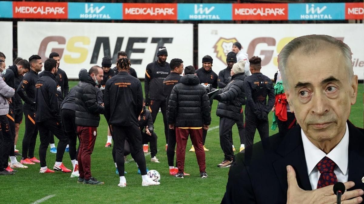 Son dakika Galatasaray haberleri... Florya'da futbolcular kazan kaldırdı! Mustafa Cengiz...