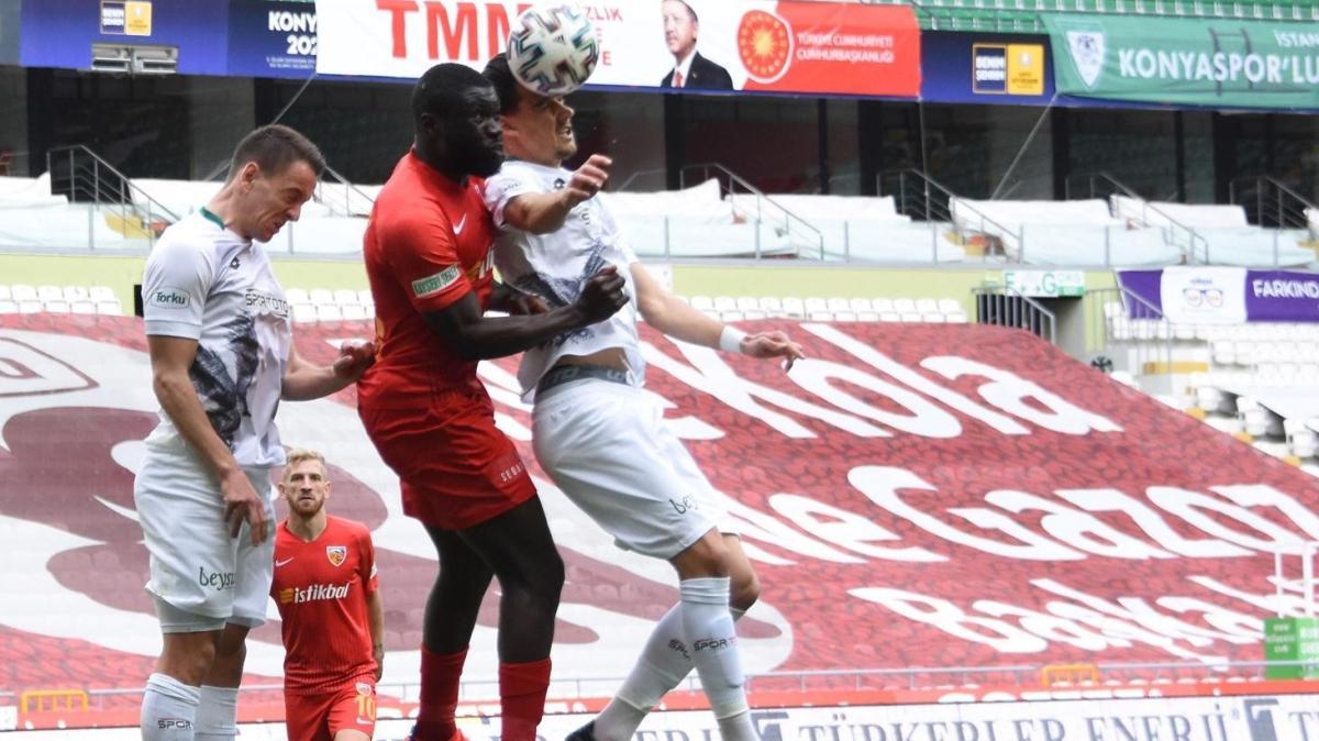 Konya'da kazanan yok: 0-0