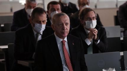 Başkan Erdoğan'dan külliye ve cami ziyareti