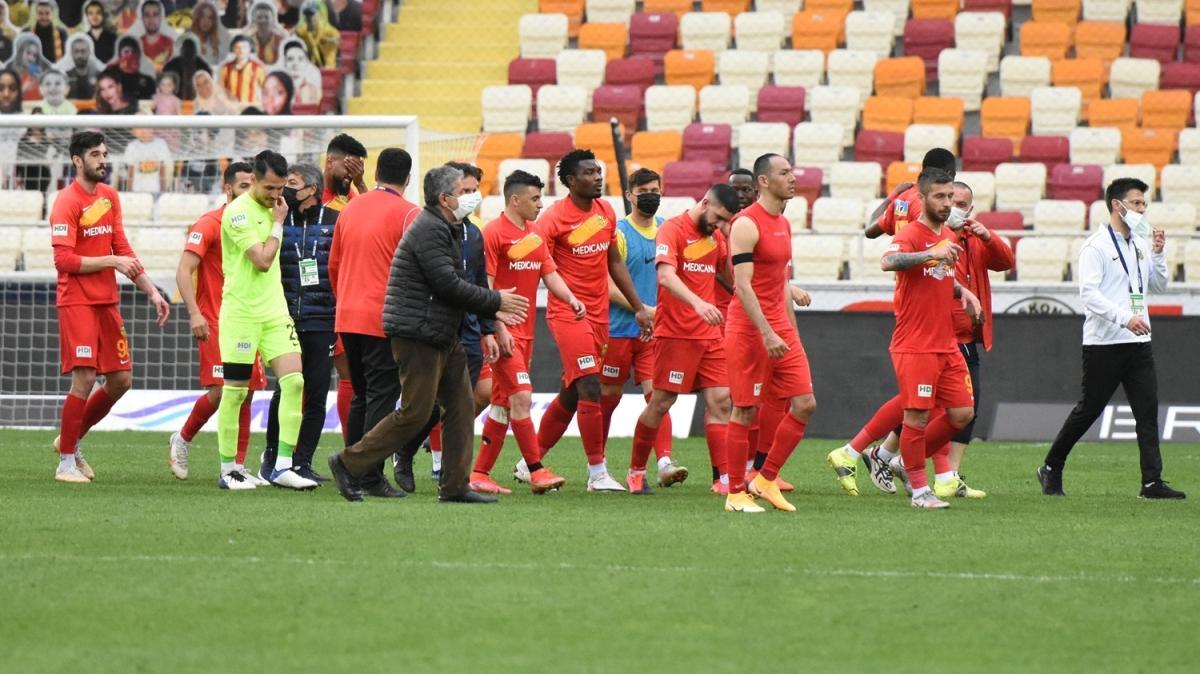 Yeni Malatyaspor, hayata döndü! 1-0