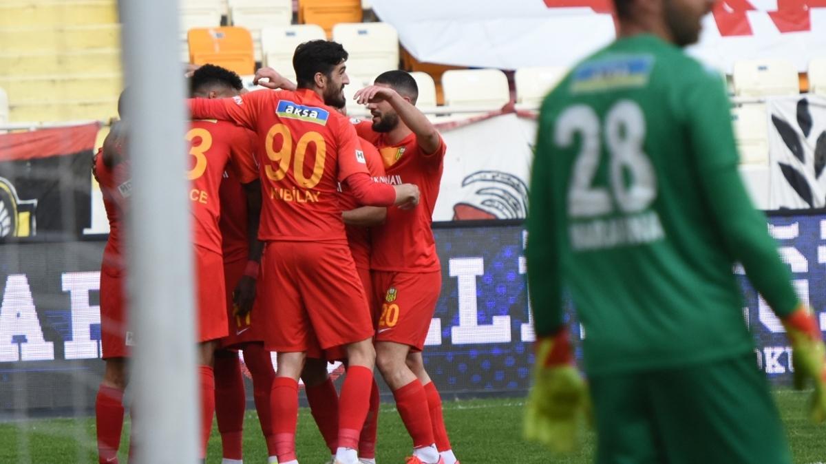 Yeni Malatyaspor 13 hafta sonra kazandı