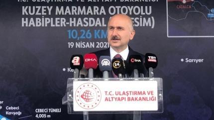 Bakan Karaismailoğlu: Çalışmalarda sona gelindi