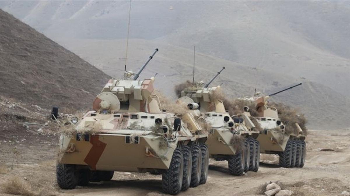 Rusya ve Tacikistan'dan ortak tatbikat: 51 bin asker katılıyor