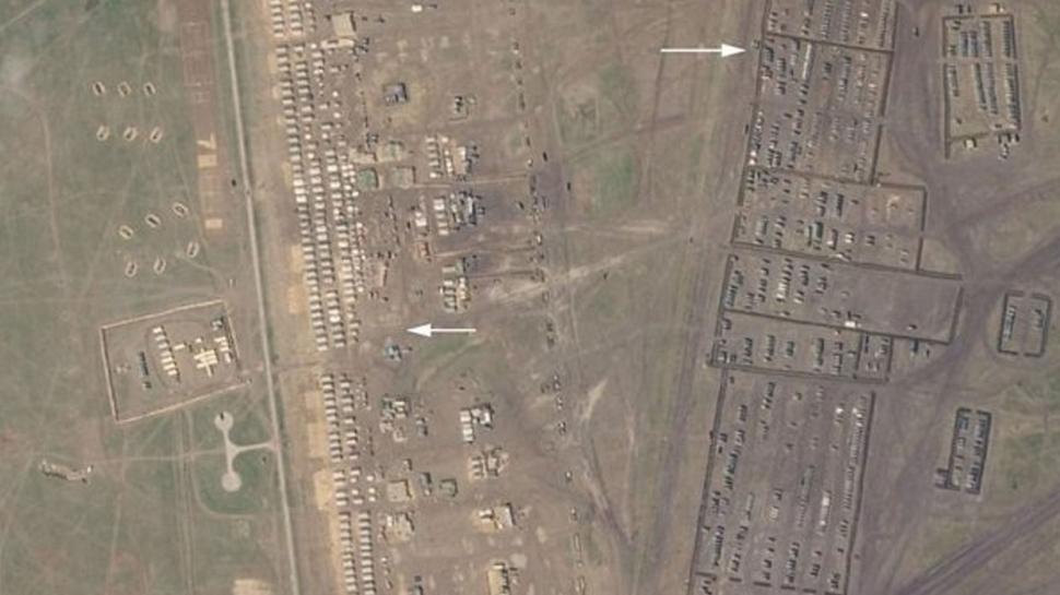 İngilizler uydu görüntülerini yayınladı... Rusya'nın savaş planı ifşa oldu!