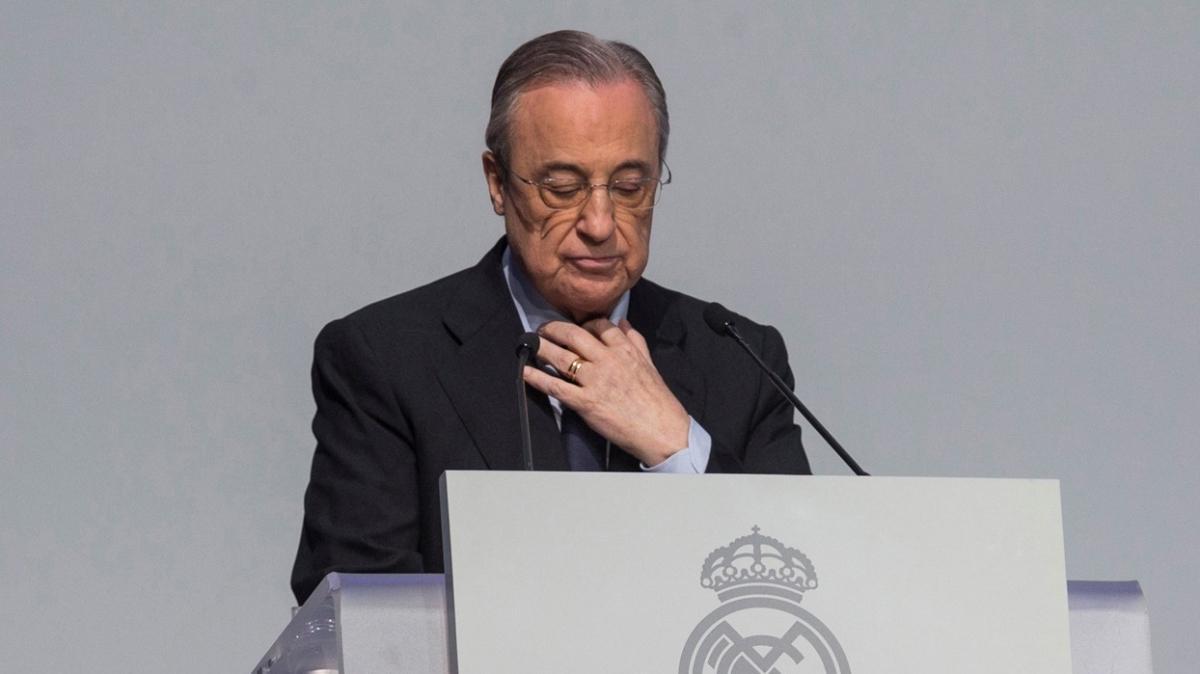Florentino Perez, Avrupa Süper Ligi'ni neden kurduklarını ...
