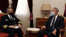 Son dakika haberi: Bakan Akar ile ABD Büyükelçisi görüştü