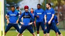 Trabzonspor'da derbi hazırlıkları tamamlandı