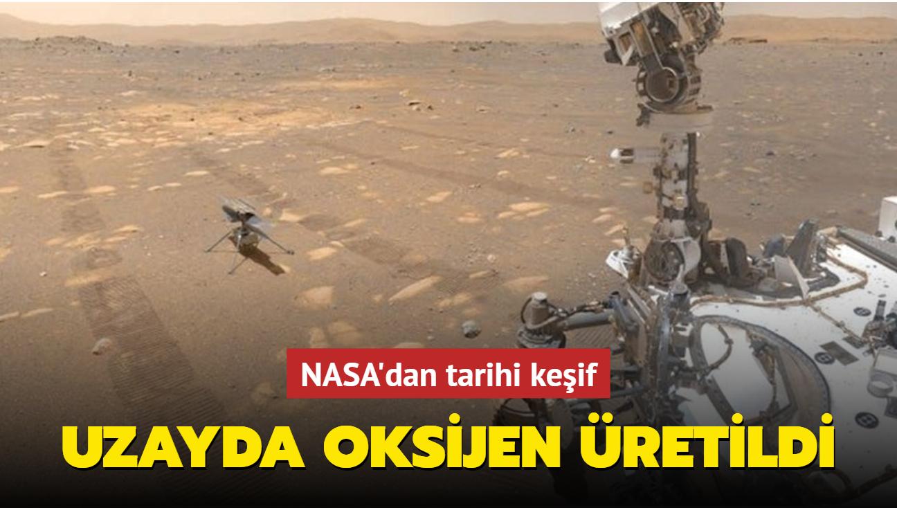 NASA, karbondioksiti oksijene dönüştüren bir cihazla uzayda oksijen üretti