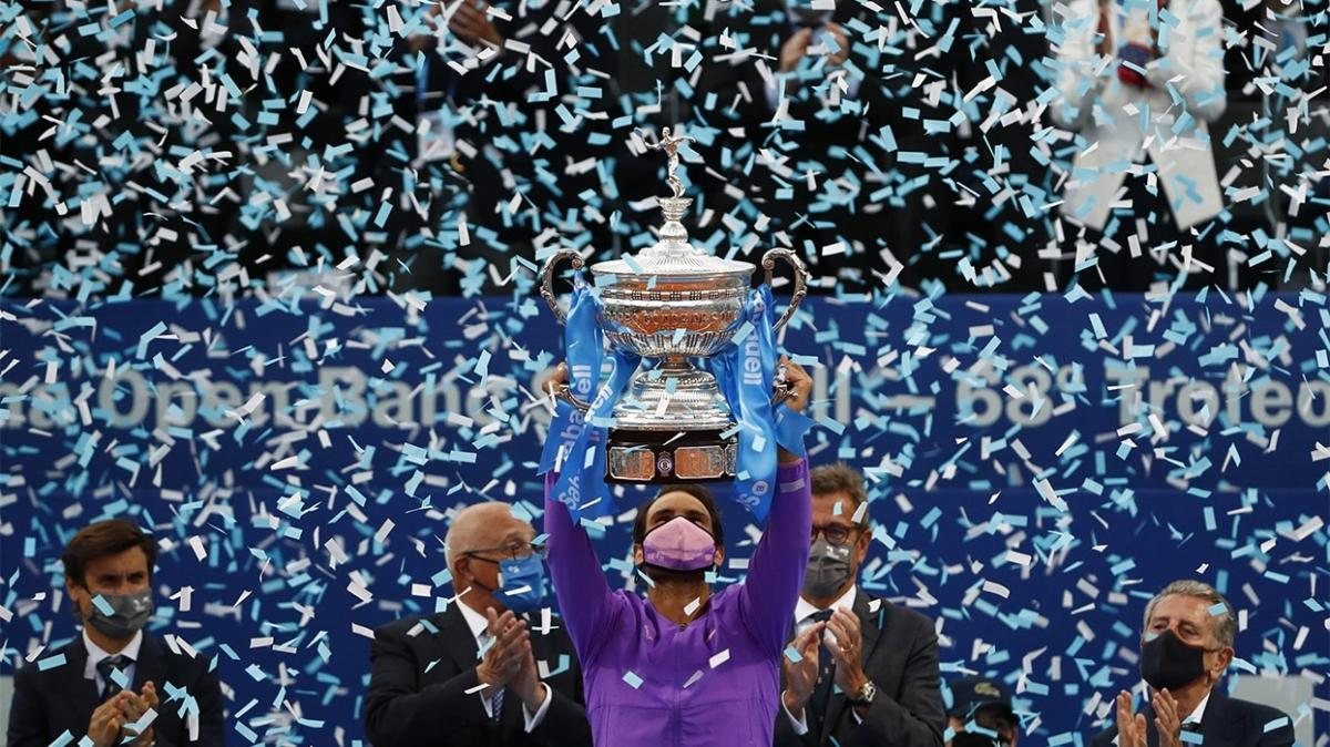 Barcelona Açık'ta şampiyon Rafael Nadal