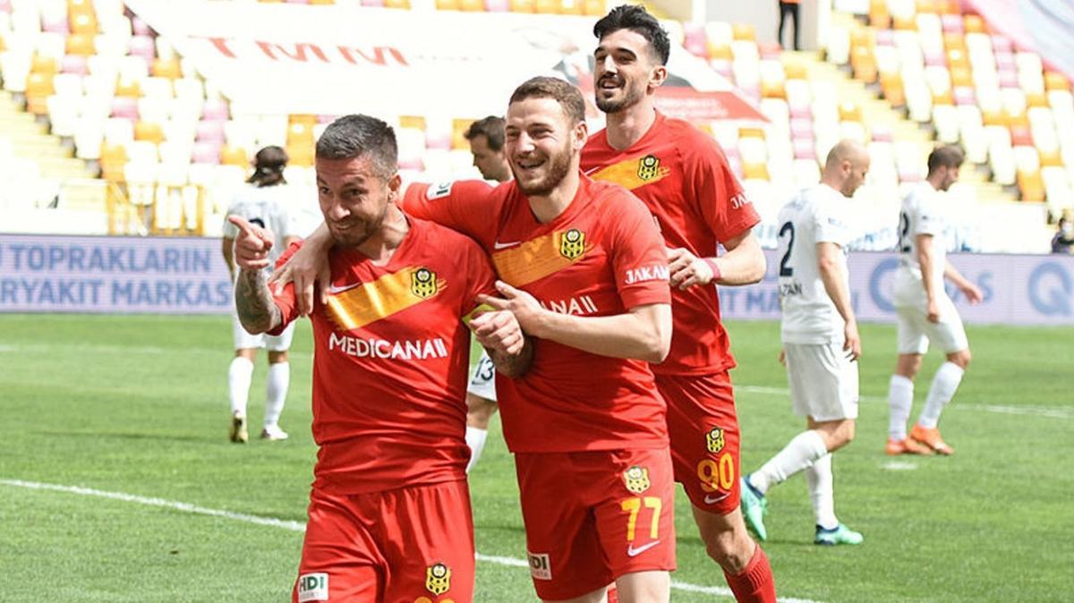 Yeni Malatyaspor Ankaragücü'nü mağlup etti