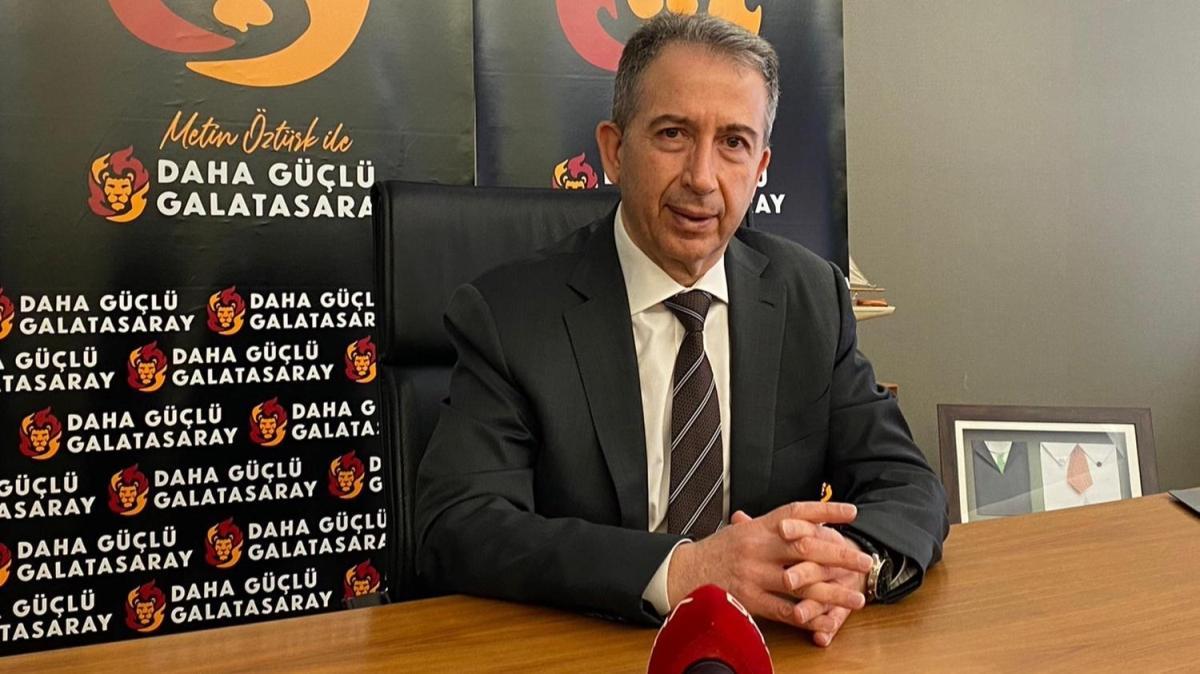 Metin Öztürk: 'Mustafa Cengiz'in Galatasaray'ı yönetmesi sakıncalı'