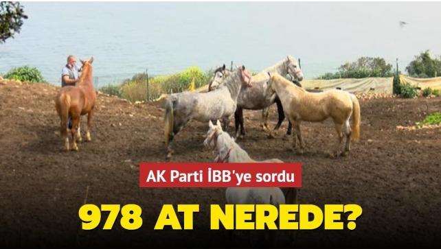 978 at nerede? AK Parti İBB'ye sordu