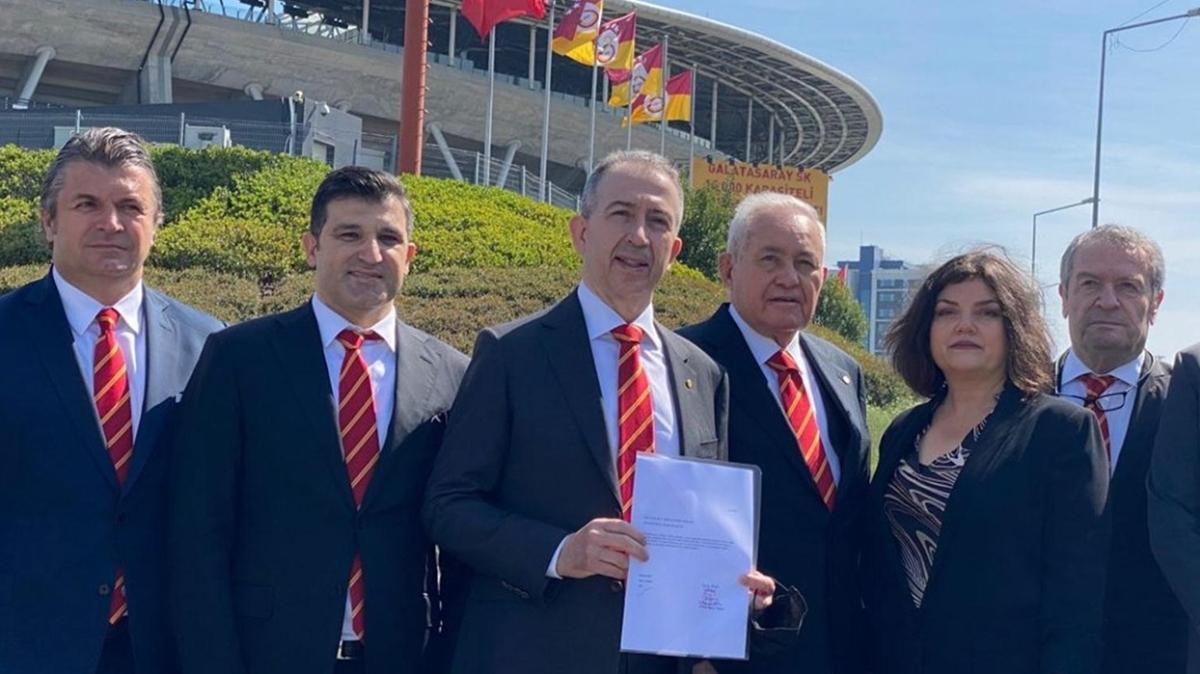 Metin Öztürk resmen Galatasaray başkan adayı oldu