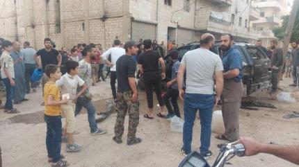 Afrin'de iftar öncesi terör saldırısı