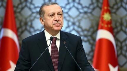 Başkan Erdoğan'dan Beşiktaş Vodafone'a tebrik