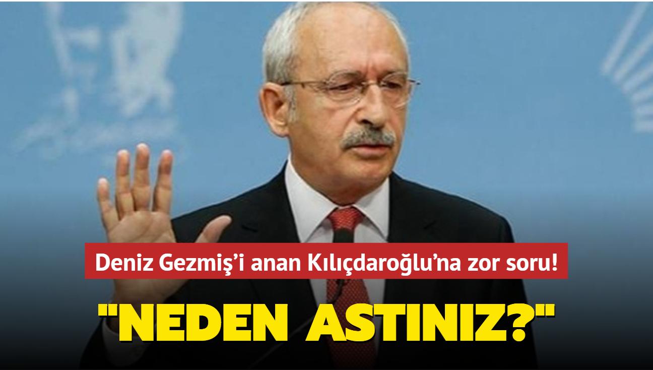 """AK Partili Turan'dan Deniz Gezmiş'i anan Kılıçdaroğlu'na zor soru: Neden astınız"""""""
