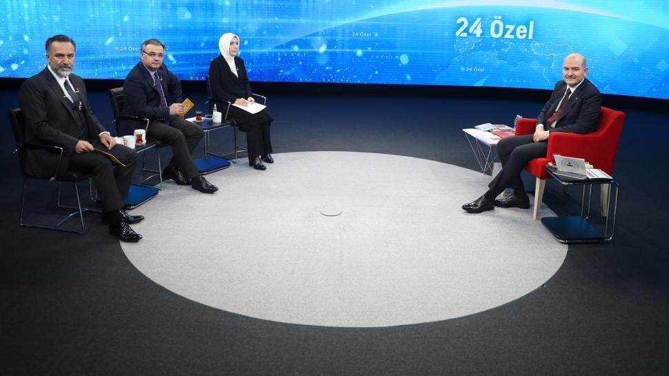 Tam kapanma 19 Mayıs'a uzayacak mı? İçişleri Bakanı Soylu 24 TV'de açıkladı