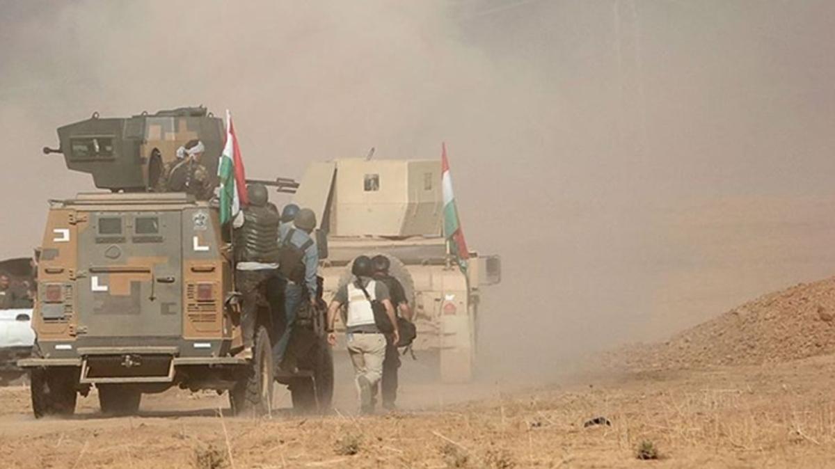 Terör örgütü PKK'dan Peşmerge'ye saldırı