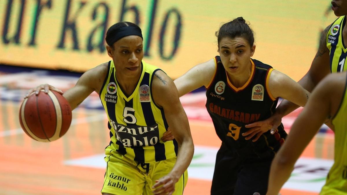 Fenerbahçe Galatasaray'ı 70-57 mağlup edip seriyi 2-0'a getirdi
