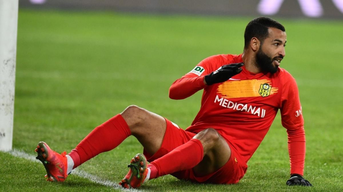 Yeni Malatyaspor'da Issam Chebake sakatlığı nedeniyle 7-10 gün sahalardan uzak kalacak