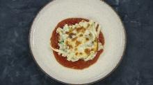 Tavuklu ve domates soslu fırında makarna tarifi