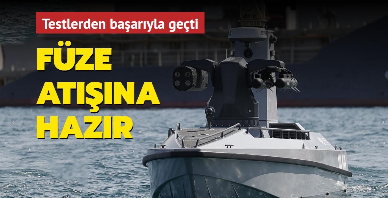 """Türkiye'nin ilk SİDA'sı füze atışına hazır! """"Mavi Vatan emin ellerde"""""""