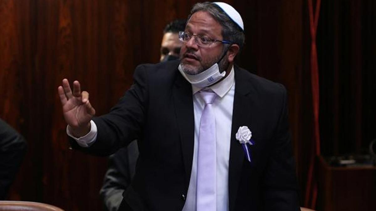 İsrailli vekil Itamar Ben-Gvir'den skandal çağrı: Gerçek mermi kullanılsın