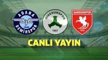 CANLI: TFF 1. Lig'de final günü! Adana Demirspor, Giresunspor ve Samsunspor'dan ikisi Süper Lig'e yükselecek