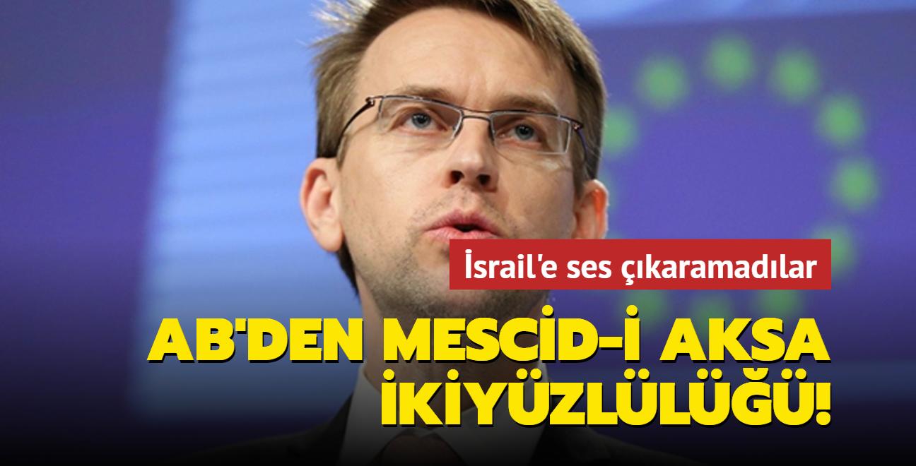 AB'den Mescid-i Aksa ikiyüzlülüğü!
