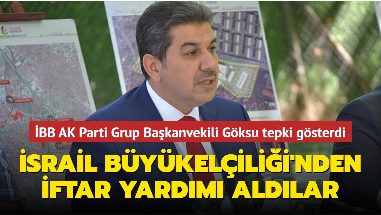 """İBB AK Parti Grup Başkanvekili Göksu'dan Ankara Büyükşehir Belediye Başkanı Yavaş'a tepki: """"Filistinli mazlumların kanı var"""""""