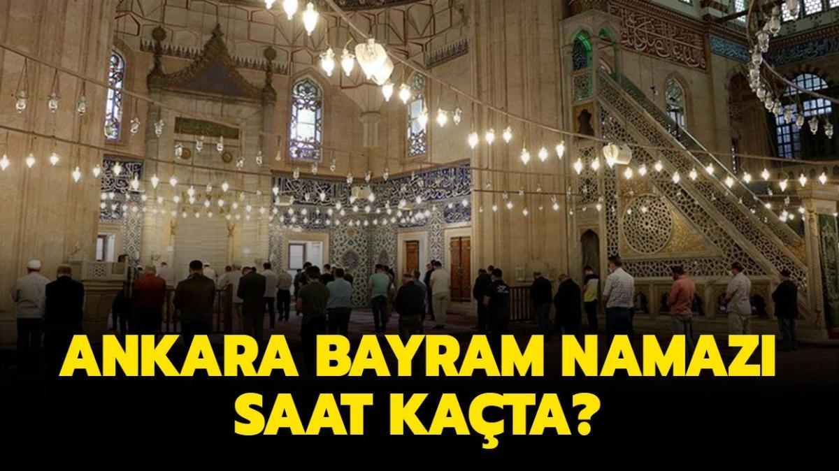 """Ankara Ramazan Bayramı namazı saat kaçta kılınacak"""" Diyanet Ankara Ramazan Bayramı namazı vakti 2021!"""