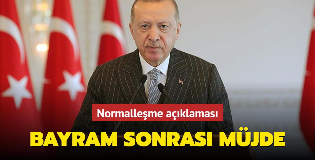 Başkan Erdoğan'dan normalleşme açıklaması