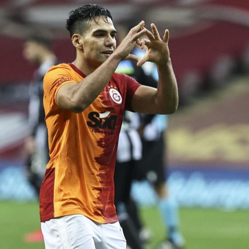 Galatasaray'da çok ilginç Falcao gerçeği