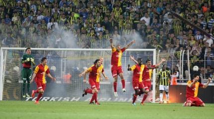 Galatasaray'dan Fenerbahçe'ye şampiyonluk göndermesi