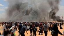 İşgalci İsrail bir Filistinliyi şehit etti