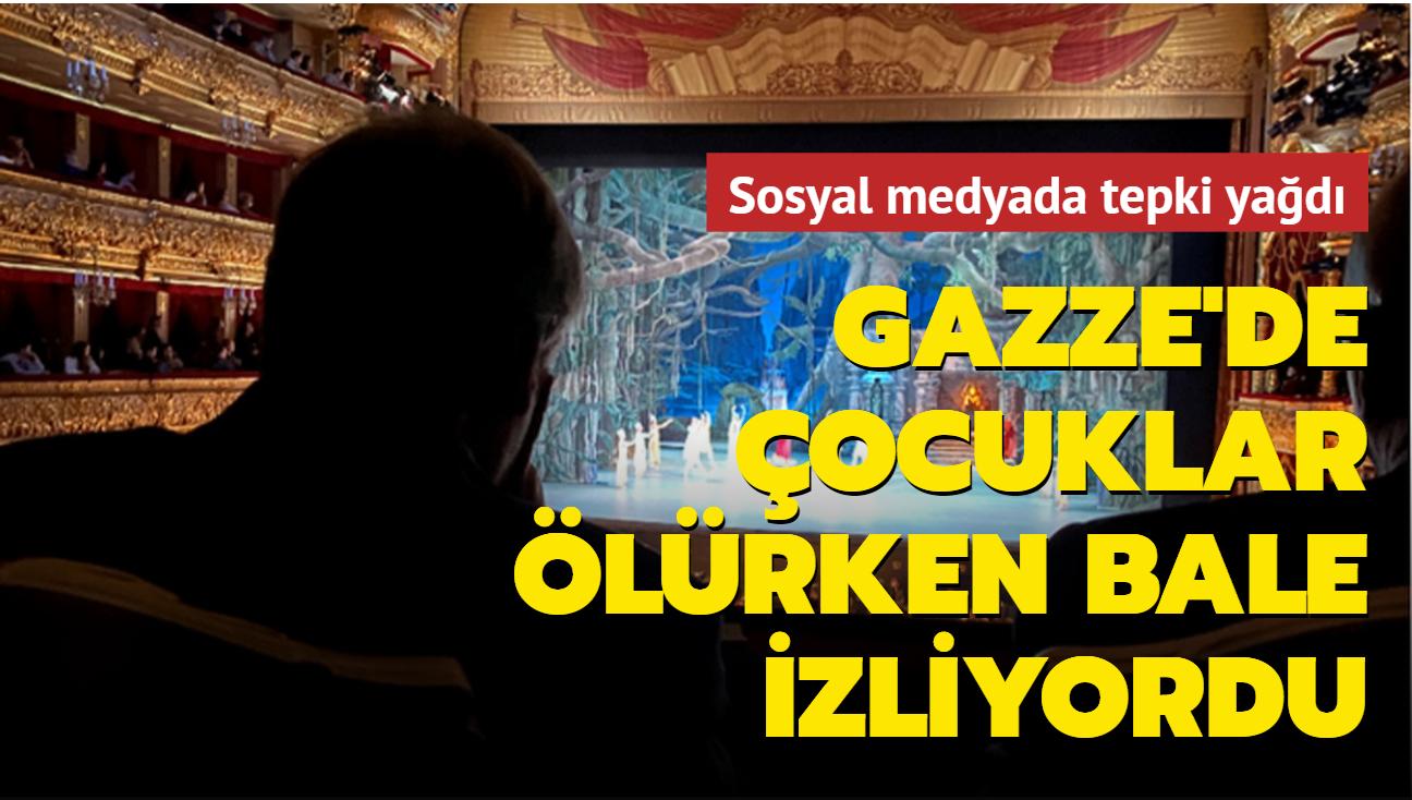 Gazze saldırı altındayken Guterres bale izliyordu... Sosyal medyada büyük tepki