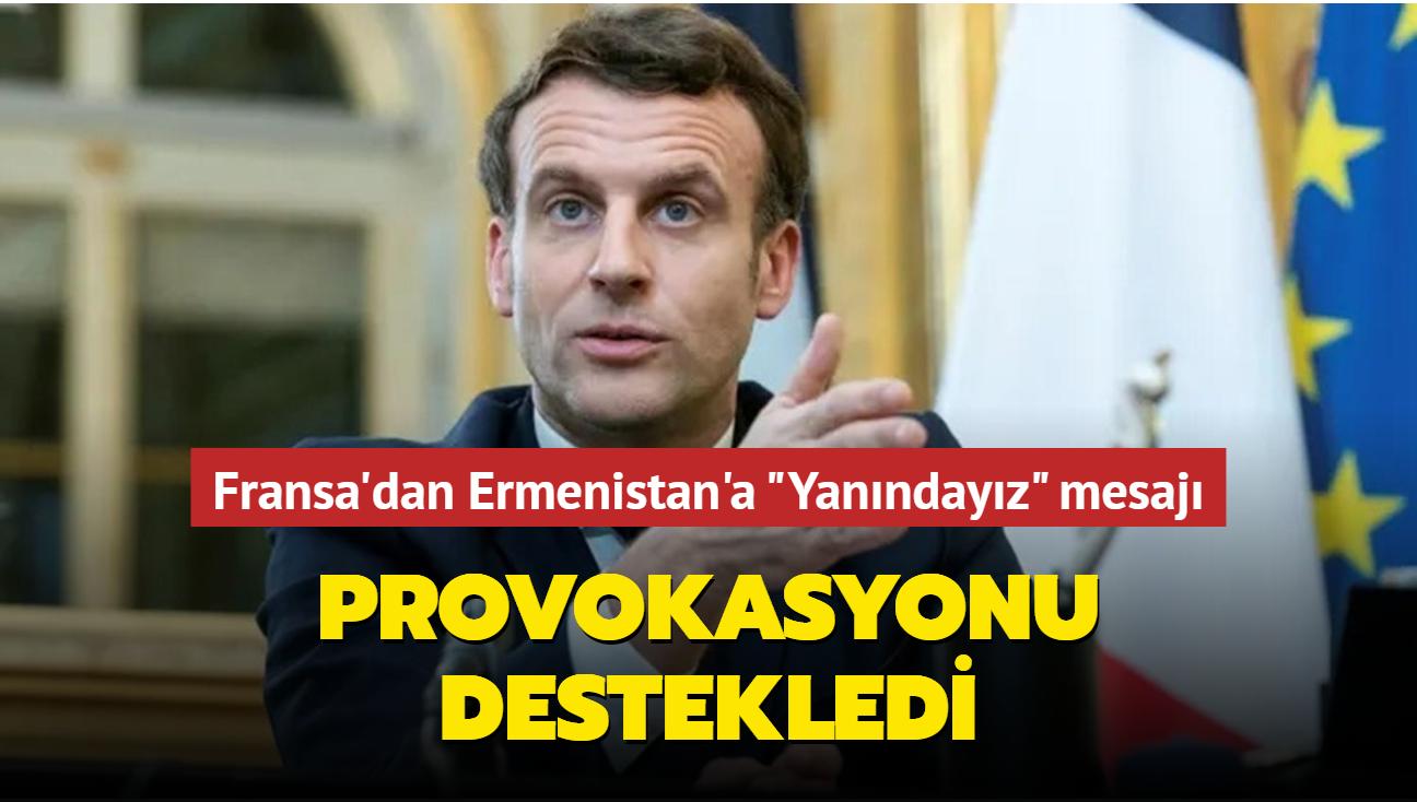 Fransa Ermenistan manipülasyonunu destekledi