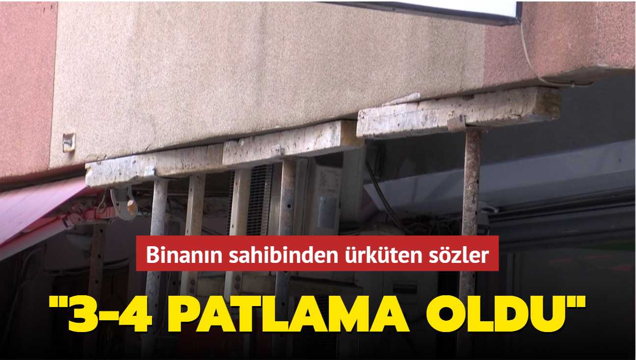 """Şişli'de boşaltılan binanın sahibinden ürküten sözler: """"Silahla ateş eder gibi 3-4 patlama oldu"""""""