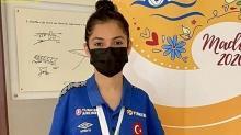 Sevilay Öztürk, Paralimpik Yüzme Avrupa Şampiyonası'nda ikici oldu