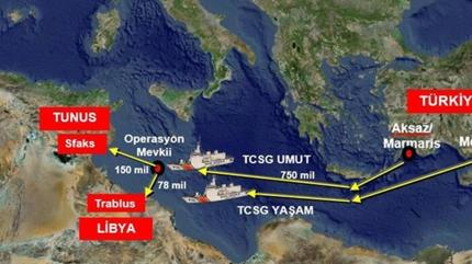 Akdeniz'de ele geçirilen 1,5 ton uyuşturucu Mersin'e getirildi
