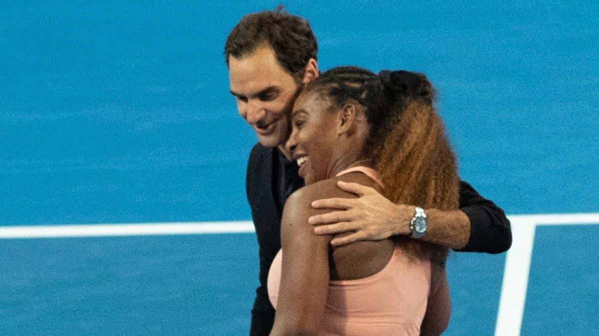 Serena Williams noktayı koydu: En iyisi Roger Federer