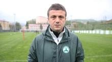 Giresunspor teknik direktör Hakan Keleş'le devam kararı aldı