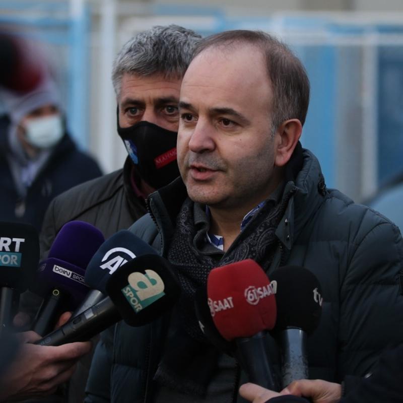 BB. Erzurumspor Başkanı Ömer Düzgün: Tekrar Süper Lig'e çıkacağız