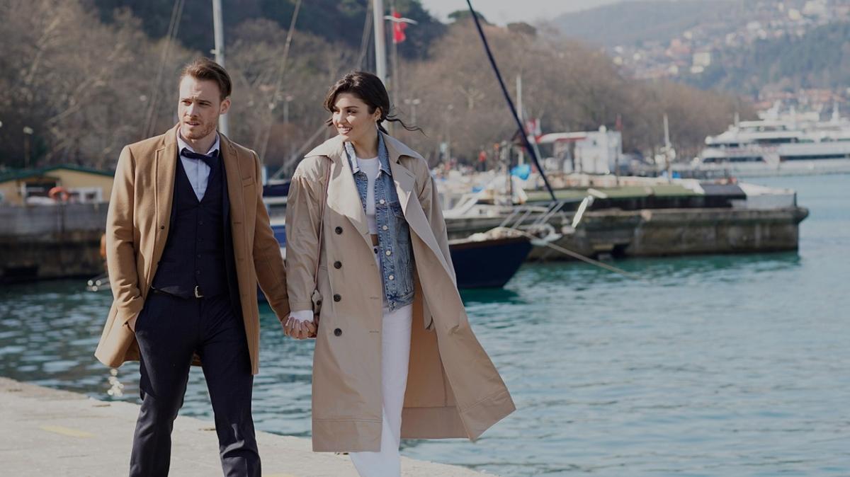 Hande Erçel'in ilişki geçmişi soruldu Kerem Bürsin sinirlendi: İlişkimizi saçma yerlere getirmeye gerek yok