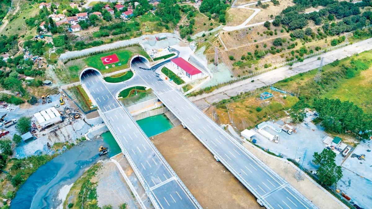 440 km'lik otoyolu Başkan Erdoğan açacak