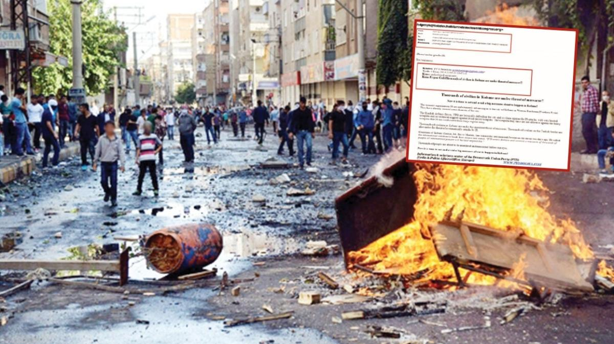 PYD'den HDP'ye kaos çağrısı