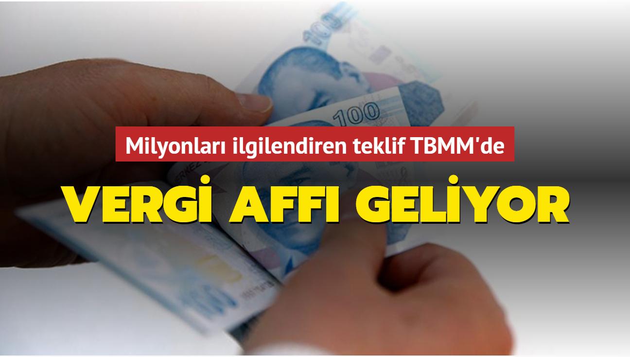 Son dakika haberi: AK Parti'den vergi ve borç yapılandırmasına yönelik kanun teklifi